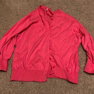Jcrew 3/4 sleeve cardigan - xl - EUC